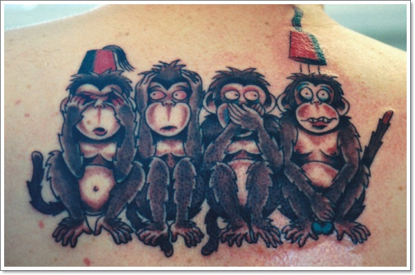 30 Cool And Crazy Monkey Tattoo Designs Ideas And Designs