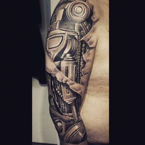 Biomechanical Tattoo Shoulder Best Tattoo Ideas Gallery Ideas And Designs