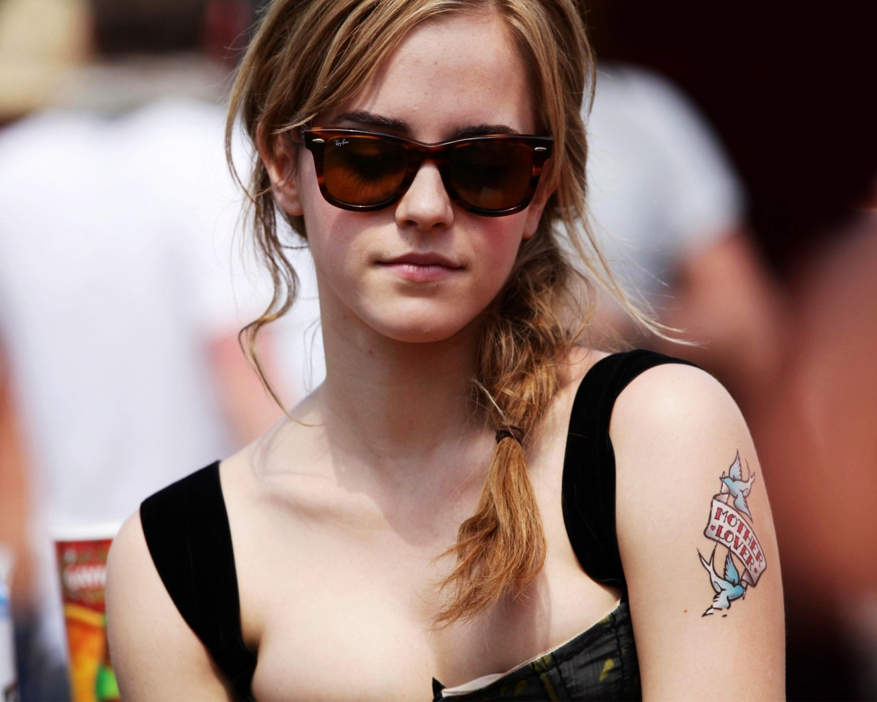 Emma Watson Mother Lover Tattoo Wallpapers Hd Wallpapers Ideas And Designs
