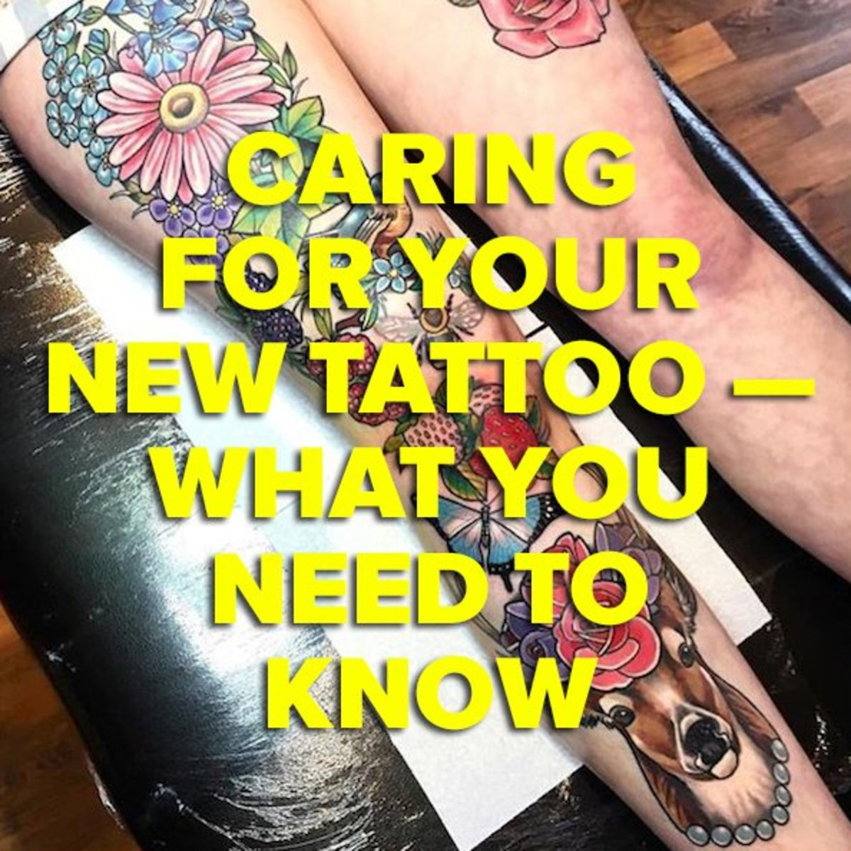 Tattoo Aftercare Inked Magazine Inked Magazine Ideas And Designs