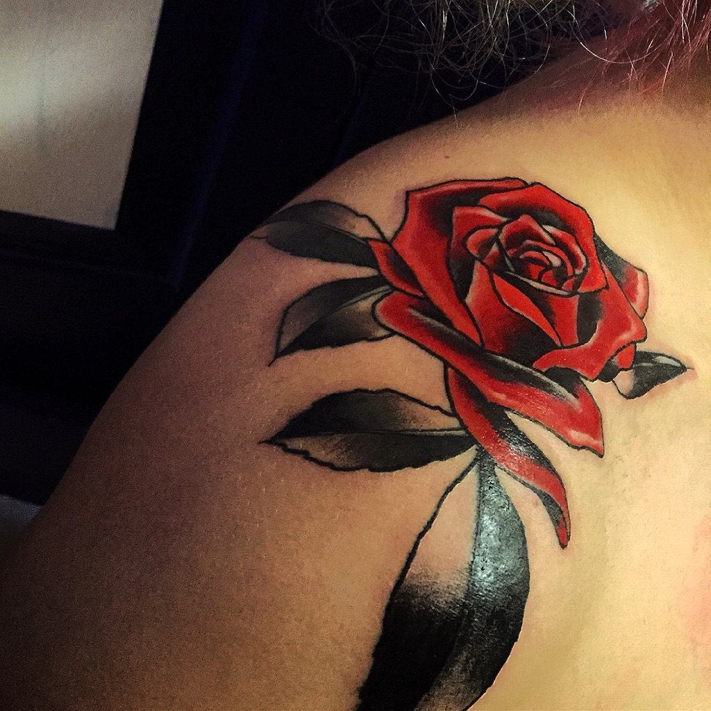 20 Shoulder Rose Tattoo Ideas For You To Try Ideas And Designs