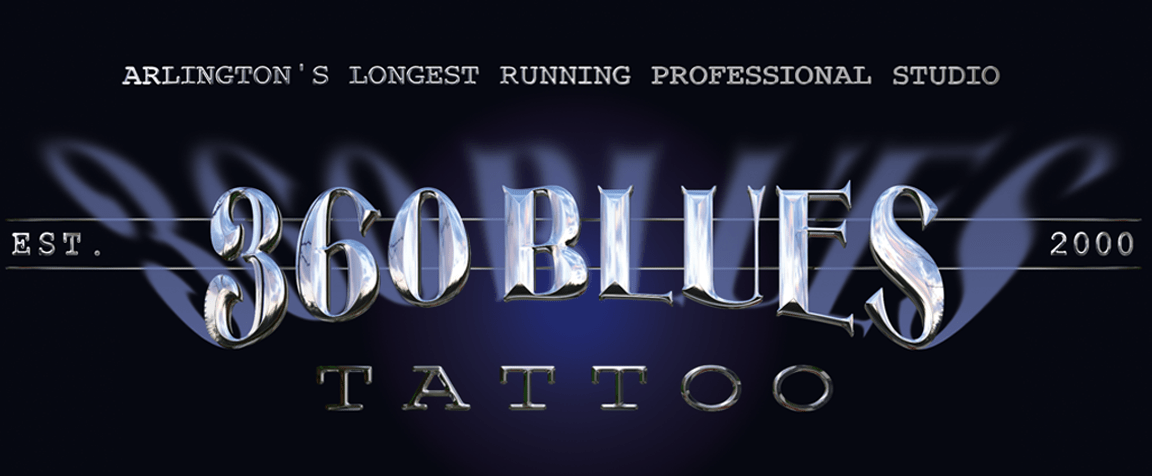 360 Blues And Tattoo Studio Ideas And Designs