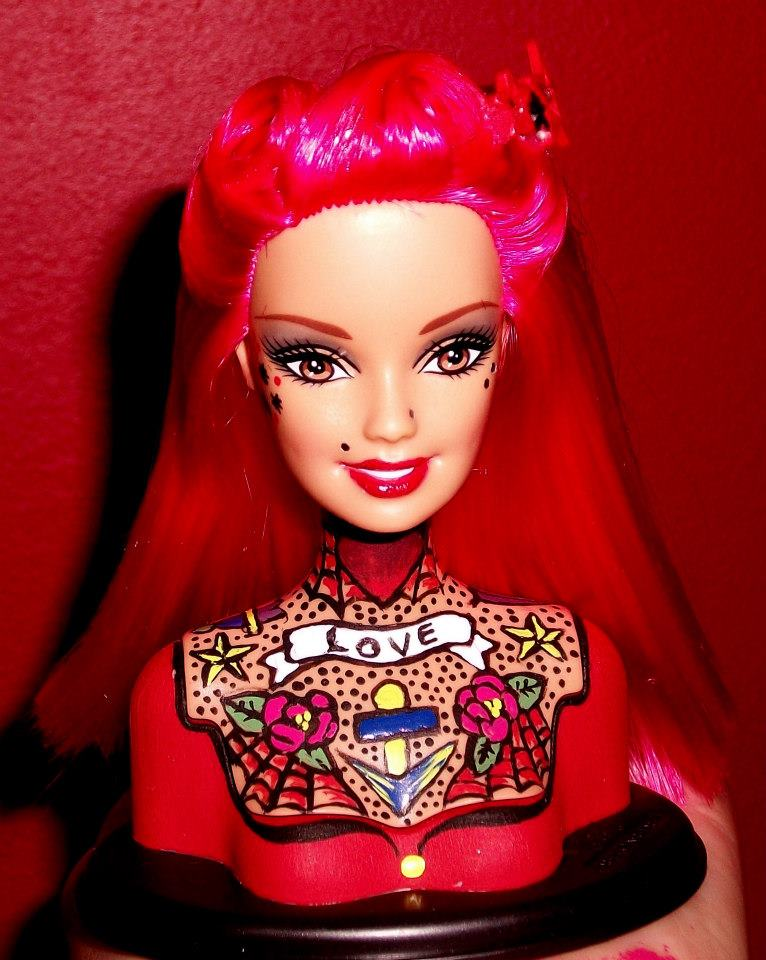 Tattoo Barbies By Susie Humphrey Ideas And Designs