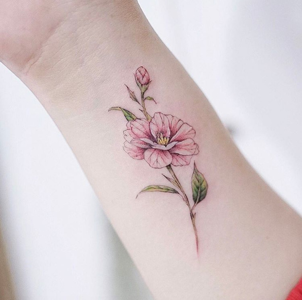 54 Classic Floral Tattoo Ideas For Spring Tattooblend Ideas And Designs