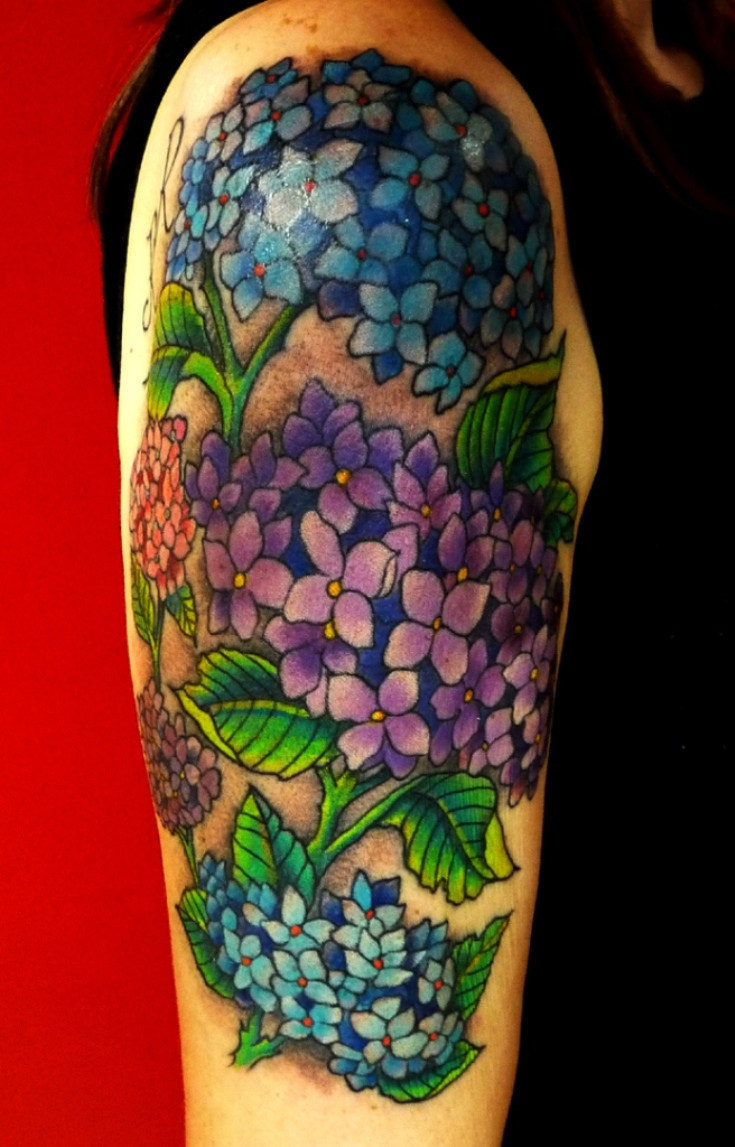 20 Hydrangea Tattoos Tattoofanblog Ideas And Designs