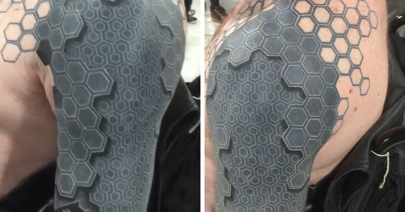 This 3D Arm Tattoo Is Melting My Mind «Twistedsifter Ideas And Designs
