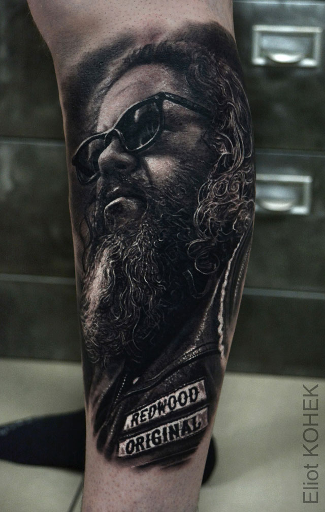 14 Incredibly Realistic 3D Tattoos By Eliot Kohek Ideas And Designs