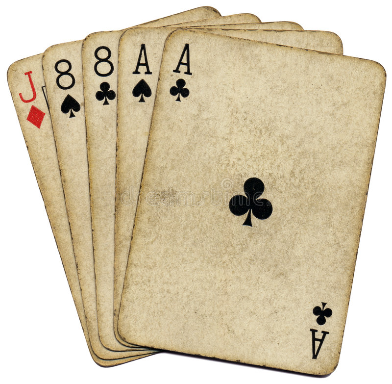 Aces And Eights The Dead Mans Hand Stock Photo Image Ideas And Designs