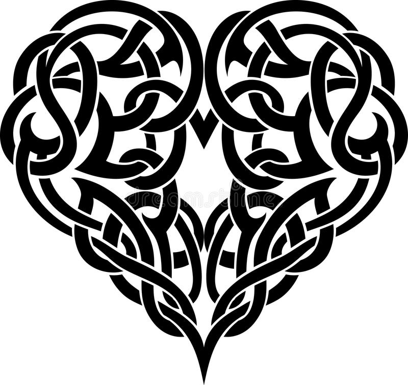 Celtic Heart Tattoo Stock Image Image 35612521 Ideas And Designs