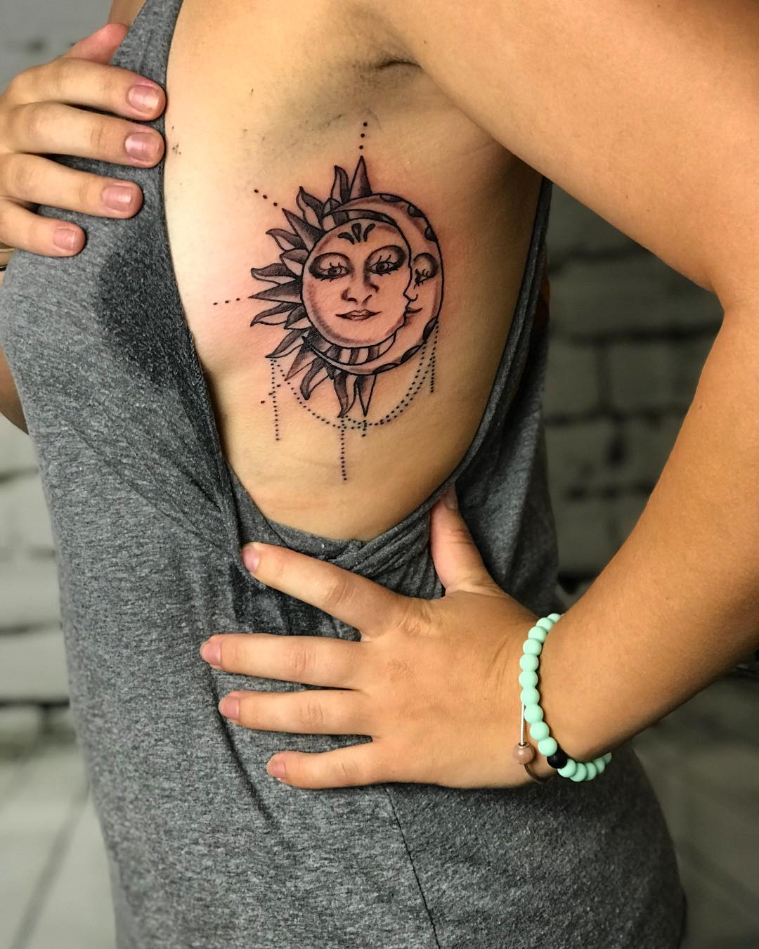 154 Outstanding Sun And Moon Tattoos With Meaning Ideas And Designs