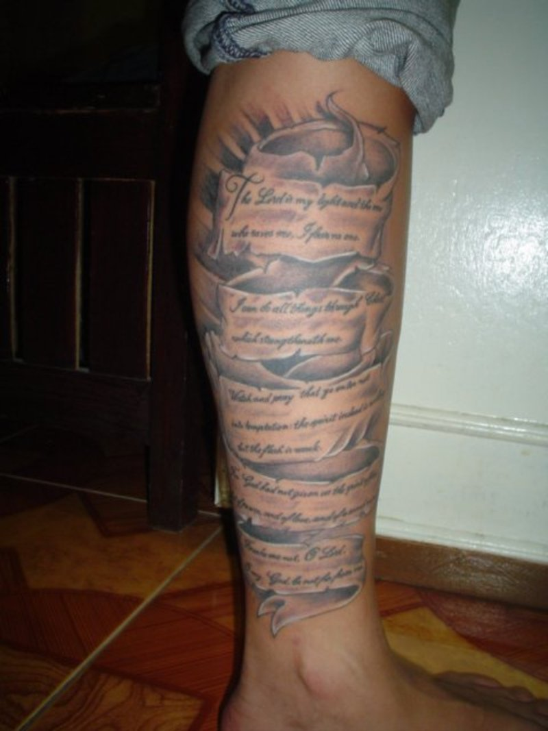 Scripture Tattoos Designs Ideas And Meaning Tattoos For You Ideas And Designs