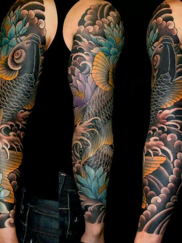 125 Koi Fish Tattoos With Meaning Ranked By Popularity Ideas And Designs