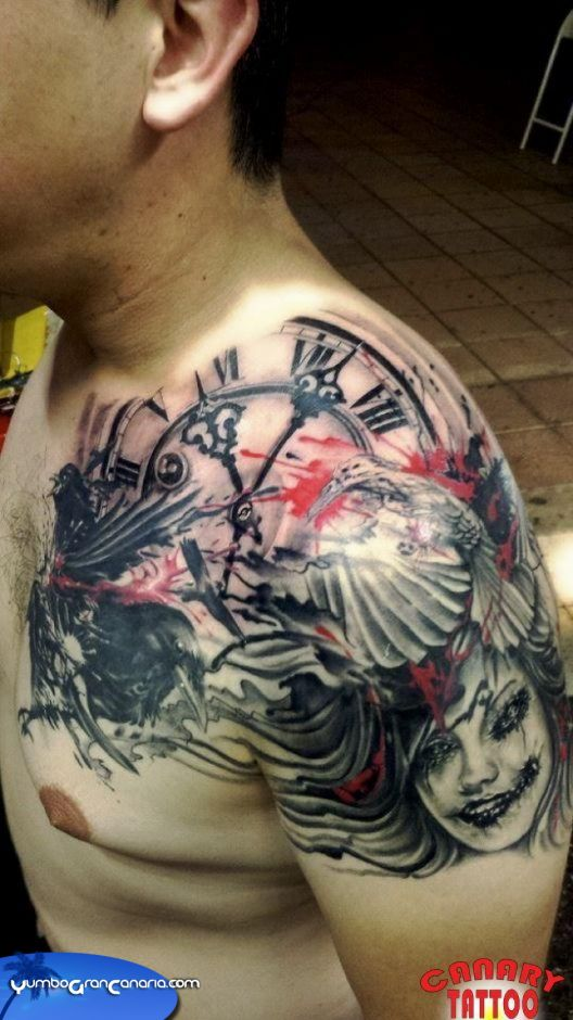 Yumbo Gran Canaria Moderator S Comment On Canary Tattoo Ideas And Designs