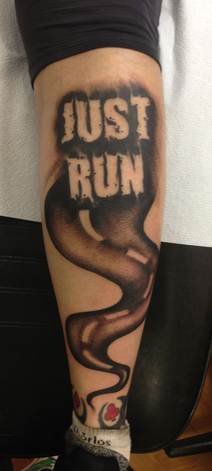 30 Running Inspired Tattoos Justrunlah Ideas And Designs
