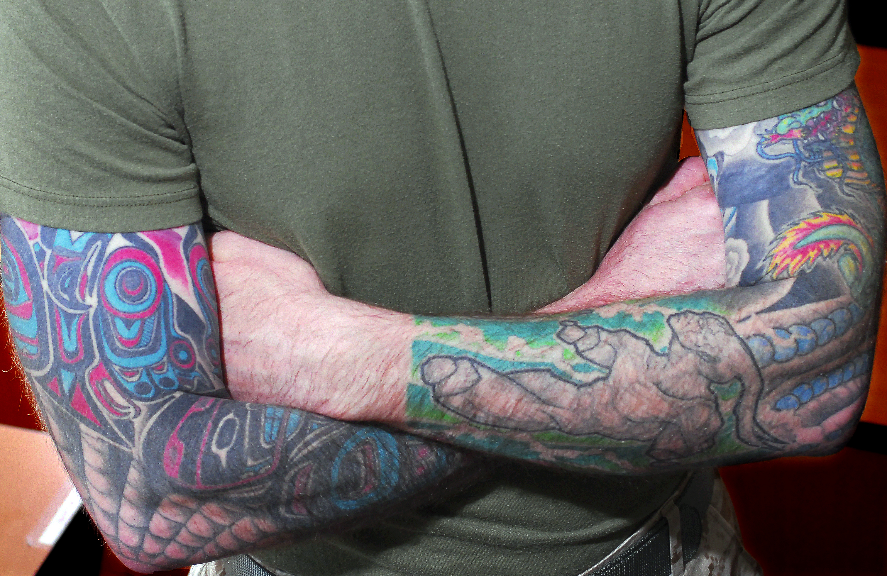 Marines New Tattoo Policy Will Be More Flexible But Won Ideas And Designs