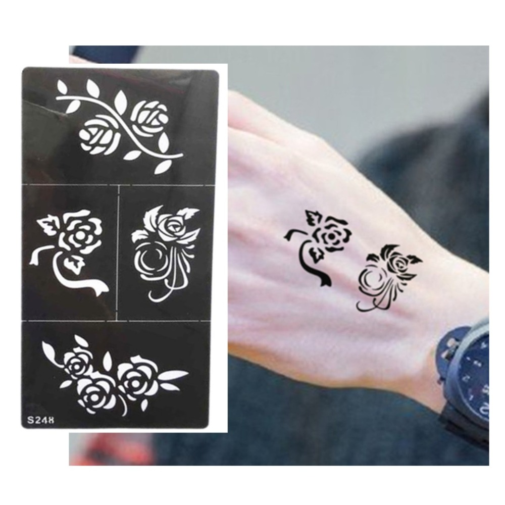 Hot Flower Pattern Tattoo Stencil Drawing For Painting Ideas And Designs