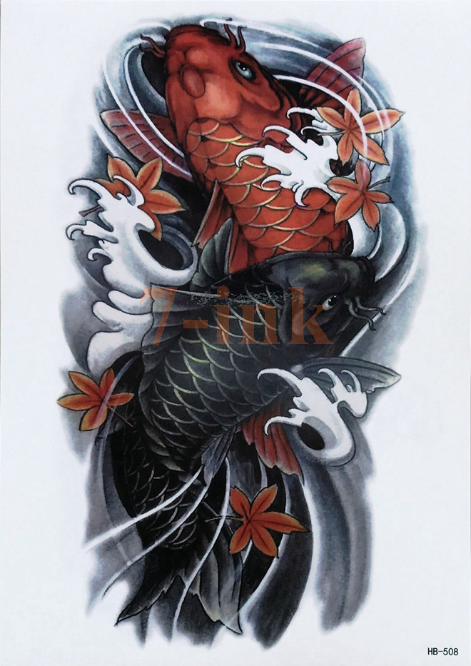 Waterproof Temporary Tattoo Chinese Traditional Tattoos Ideas And Designs