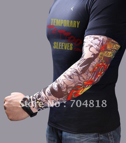 High Quality 2012 Tattoo Sleeve Temporary Tattoo Tribal Ideas And Designs