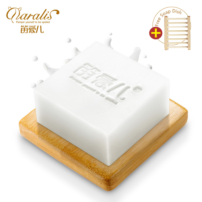 Goat S Milk Extract Whitening Soap Cleaner Removal Pimple Ideas And Designs