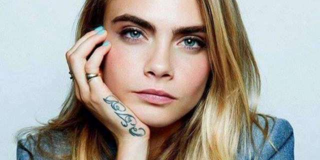 Cara Delevingne's 19 Tattoos Their Meanings – Body Art Guru Ideas And Designs