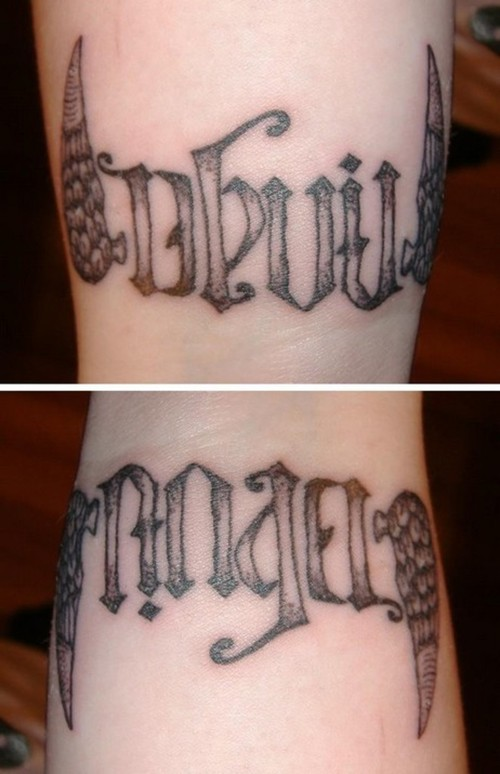 Ambigram Tattoos Bodysstyle Ideas And Designs
