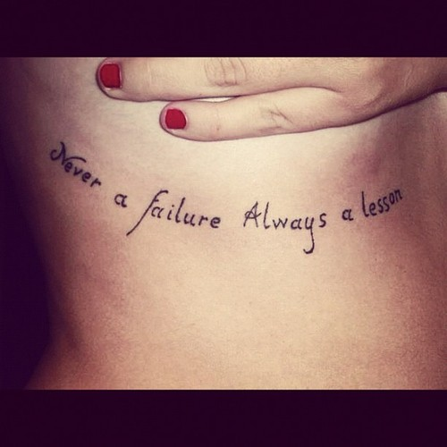 Inspirational Quote Tattoos 25 Bodysstyle Ideas And Designs