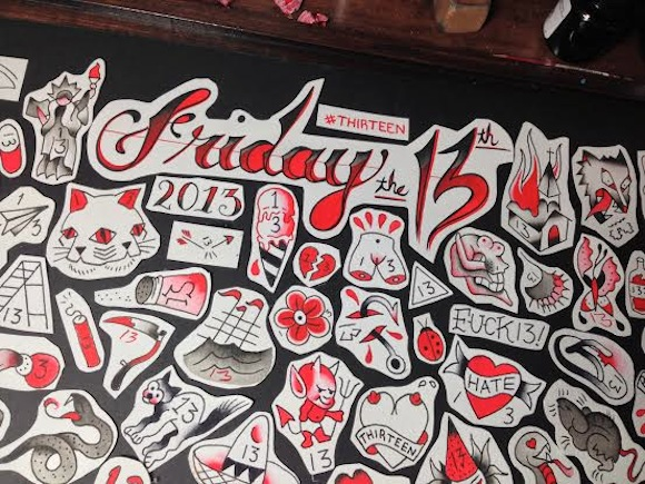 6 Places For 13 Friday The 13Th Tattoos Ideas And Designs