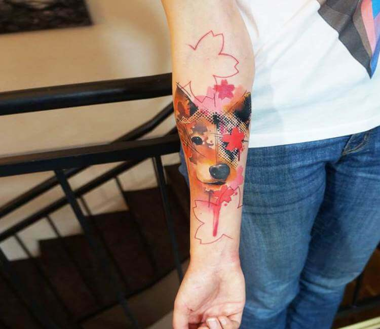 Dog Tattoo By Dynoz Art Attack Post 18042 Ideas And Designs