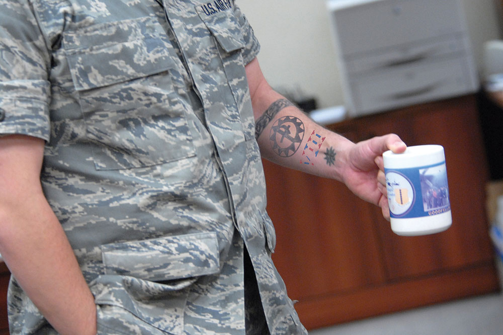 Air Force Relaxes Tattoo Policy Allows Sleeves Military Com Ideas And Designs