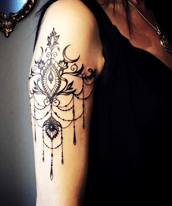 101 Tasteful Lace Tattoos Designs And Ideas Lace Tattoo Ideas And Designs