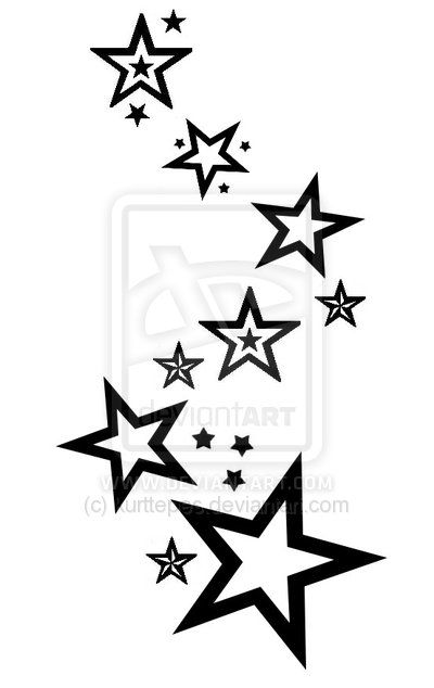 Star Designs Google Search Stars Star Tattoo Designs Ideas And Designs