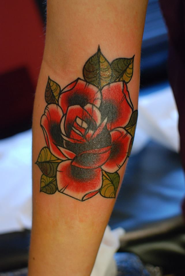 Best 25 Traditional Rose Tattoos Ideas On Pinterest Ideas And Designs