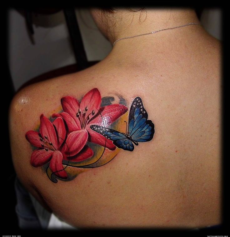 Best 25 Realistic Butterfly Tattoo Ideas On Pinterest Ideas And Designs