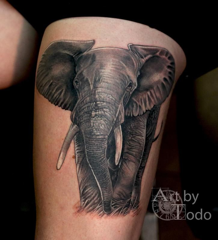 31 Best African Elephant Tattoo Images On Pinterest Ideas And Designs