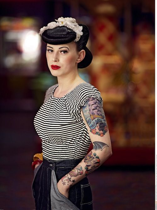 Best 25 Rockabilly Style Tattoos Ideas On Pinterest Ideas And Designs