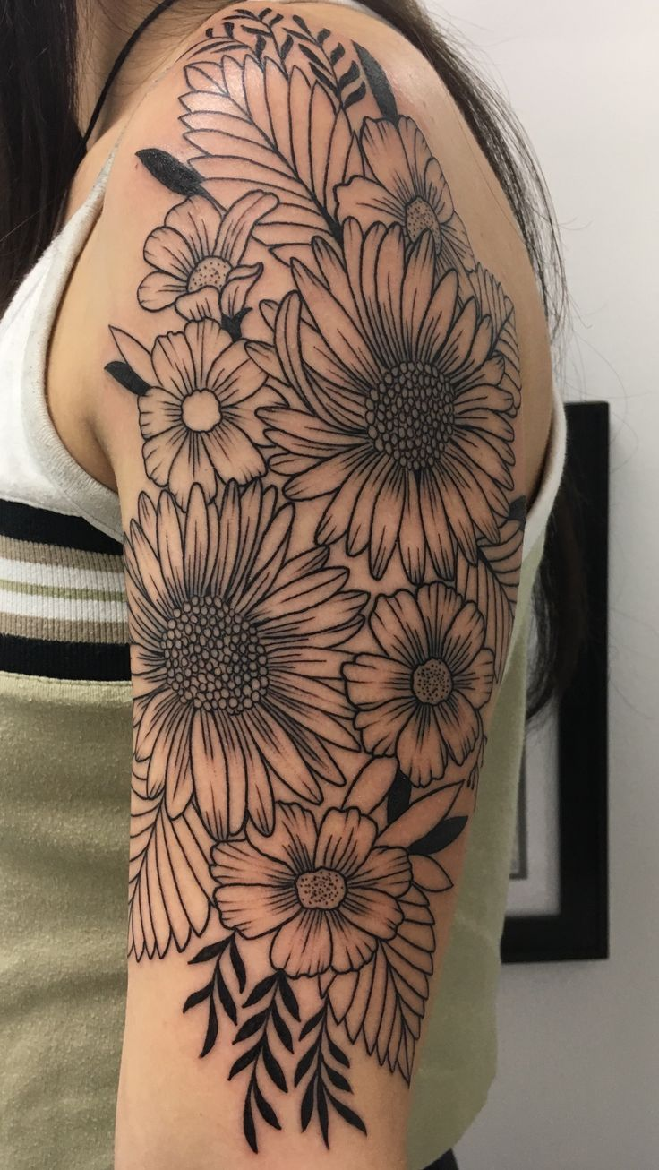 Best 25 Flower Tattoos Ideas On Pinterest Delicate Ideas And Designs