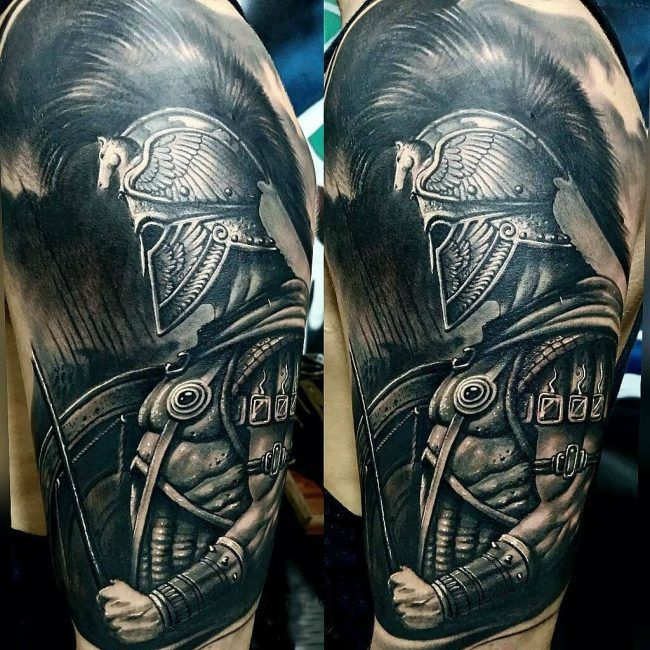 Spartan Tattoo 71 Tattoos Spartan Tattoo Tattoos Ideas And Designs