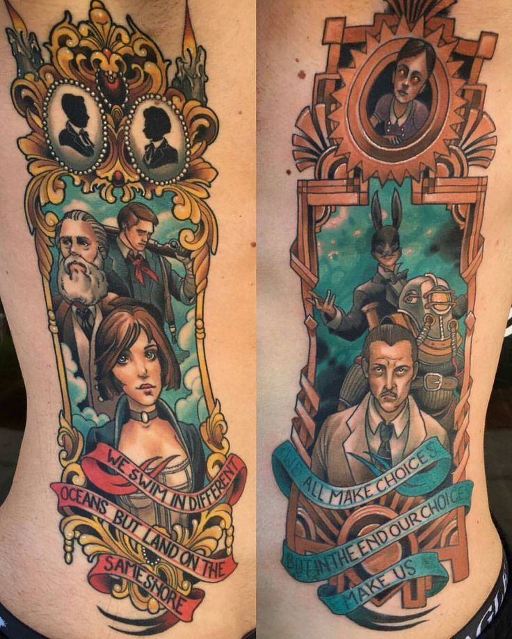 23 Best Bioshock Tattoo Images On Pinterest Bioshock Ideas And Designs