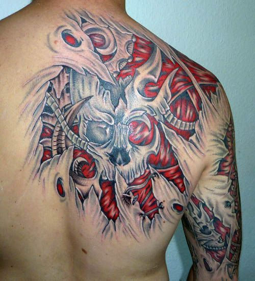 27 Best Amazing Biomechanical Tattoos Pinterest Images On Ideas And Designs
