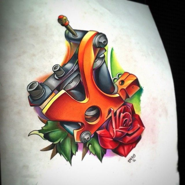 67 Best Tattoo Machine Images On Pinterest Tattoo Ideas And Designs