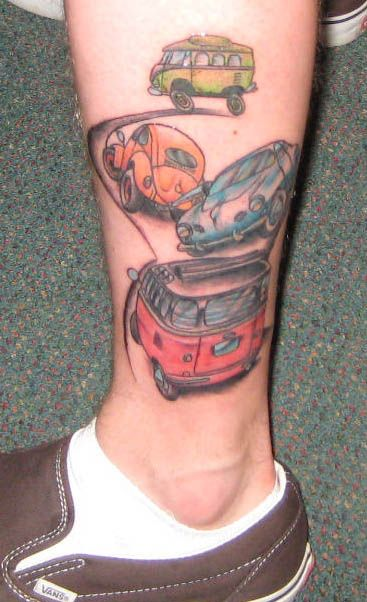 125 Best Vw Tattoo Images On Pinterest Vw Tattoo Ideas And Designs