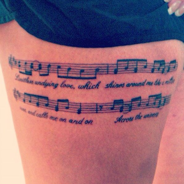 34 Best Music Tats Images On Pinterest Music Tattoos Ideas And Designs