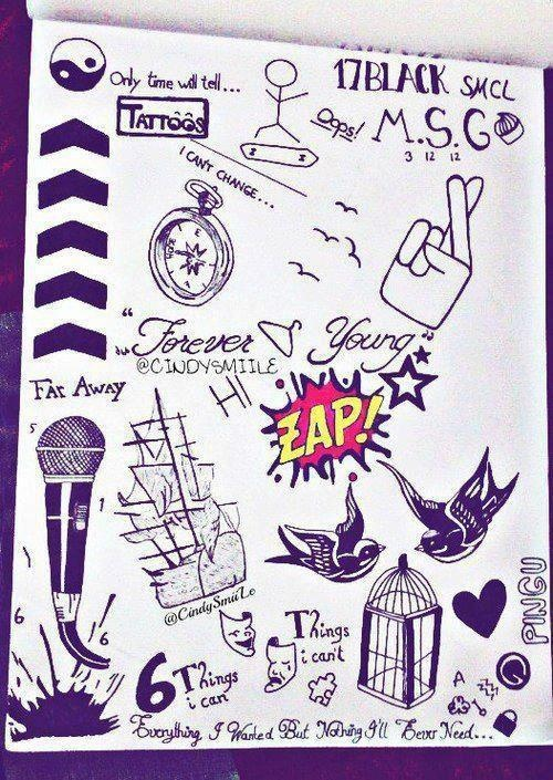 44 Best 1D Tattoos Images On Pinterest One Direction Ideas And Designs