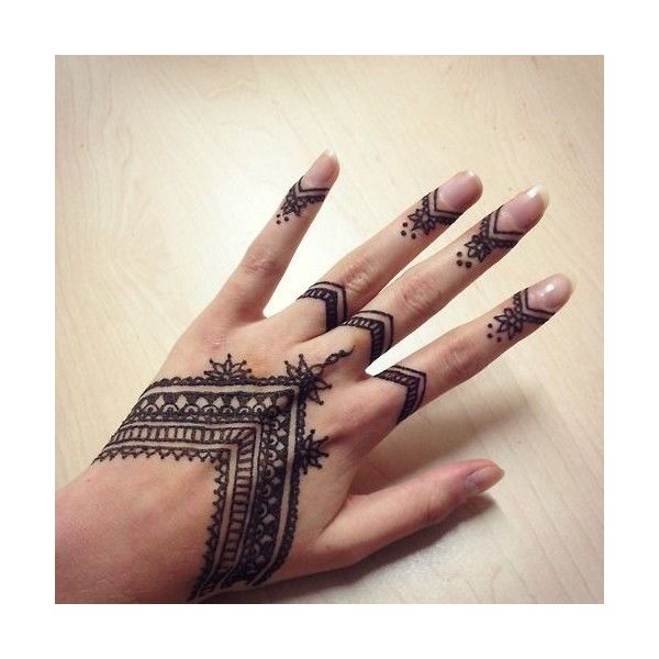 Pics For Finger Henna Tumblr Liked On Polyvore Featuring Ideas And Designs