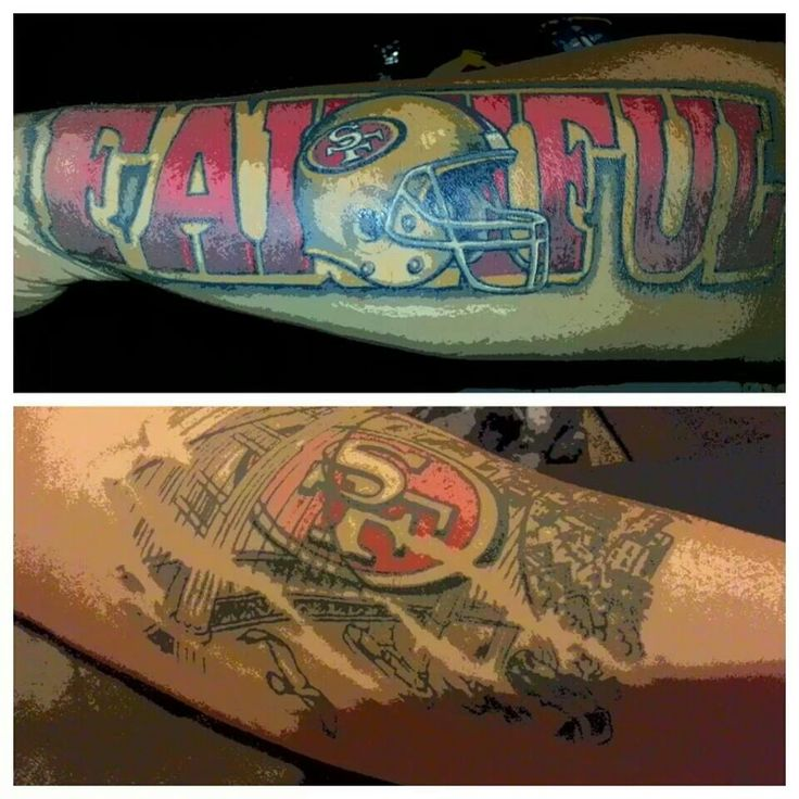 190 Best 49Er Tattoos Images On Pinterest Tattoo Ideas San Francisco 49Ers And Cool Tattoos Ideas And Designs