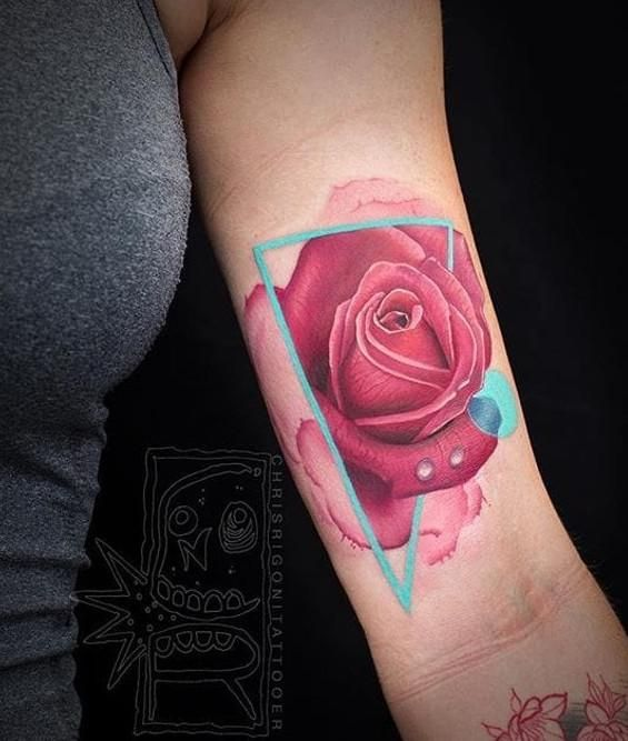 81 Best 65 Roses For Cystic Fibrosis Tattoo Images On Ideas And Designs