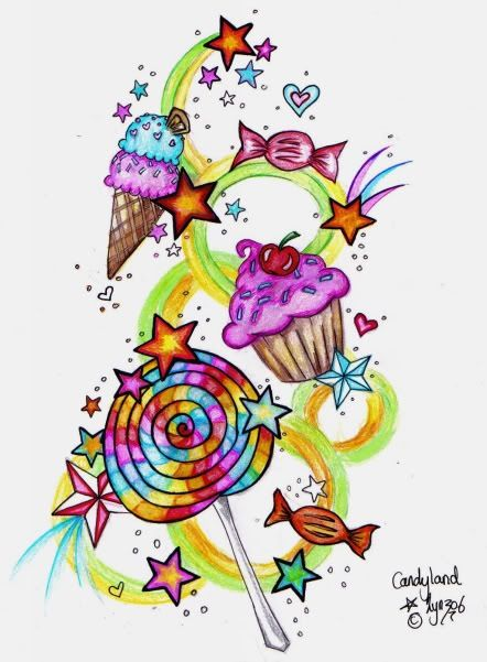 Would Be A Cute Tattoo Pretty Cupcake Tattoos Candy Ideas And Designs