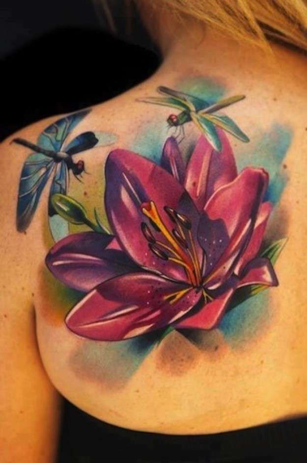 31 Best 3D Lotus Flower Tattoo Images On Pinterest Lotus Ideas And Designs