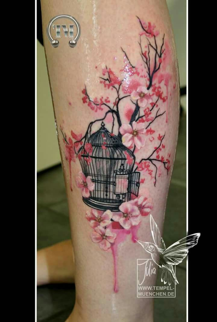 23 Best Cherry Blossom Tattoo Ideas Images On Pinterest Ideas And Designs