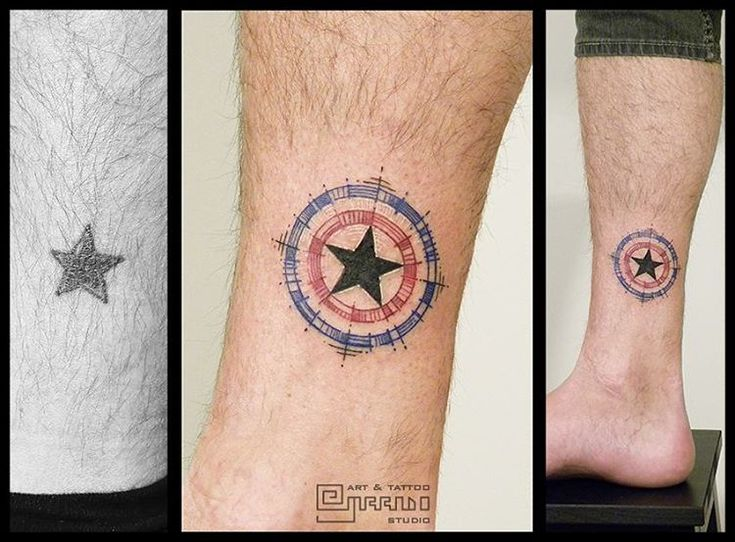 Best 25 Captain America Tattoo Ideas On Pinterest Ideas And Designs